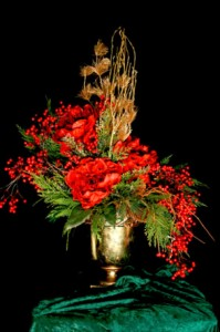 Holiday Silk Arrangements Gallery