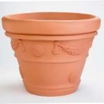 Milan (Terra Cotta Vase with Garland)