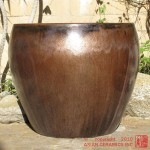 Large Tapered Planter (Bronze)