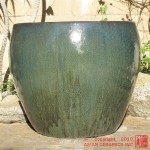 Large Tapered Planter (Forest Green)